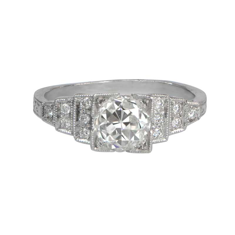 Home Engagement Rings Platinum Diamond Engagement Ring
