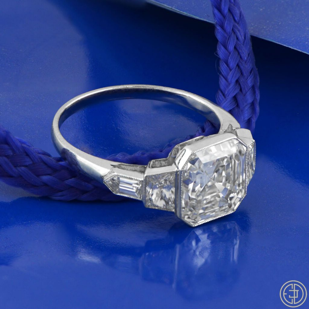 Should the proposal be a surprise Estate Diamond Jewelry