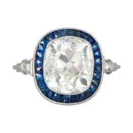 10849-Diamond-and-Sapphire-Cushion-Cut-Halo-Ring-TV