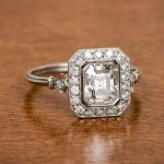 Antique Emerald Cut Engagement Rings Link
