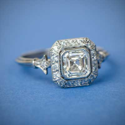 Asscher-Cut-Ring-Collection