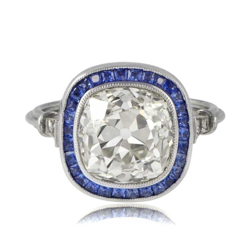 Cushion Cut Engagement Ring Estate Diamond Jewelry
