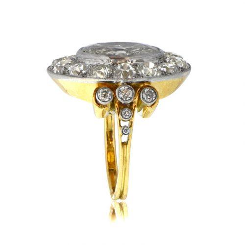 Spectacular Diamond Engagement Ring Estate Diamond Jewelry