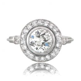 Old Euro Engagement Ring