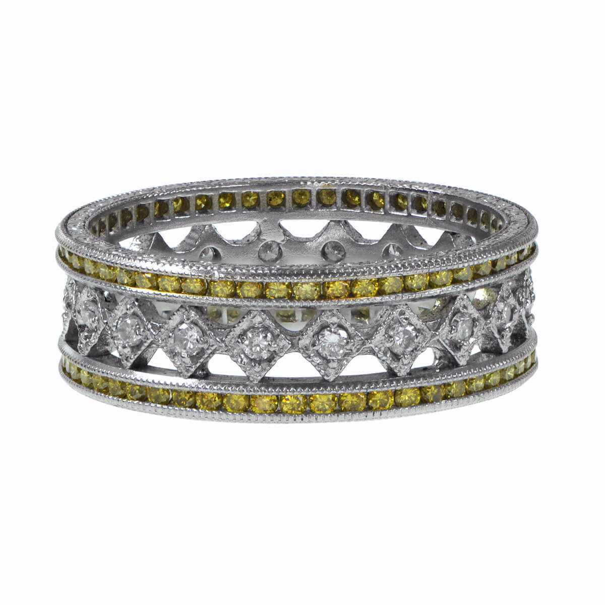 ctw wedding bands ct products band gold size in stone diamond jewellery vir jewels yellow white