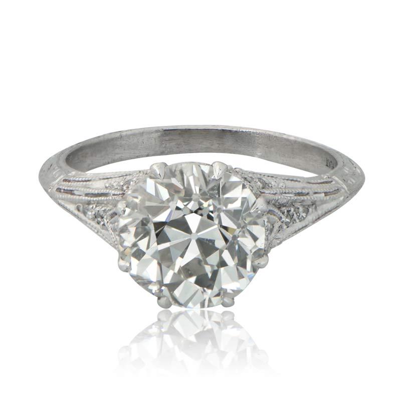 estate diamond jewelry With estate jewelry wedding rings