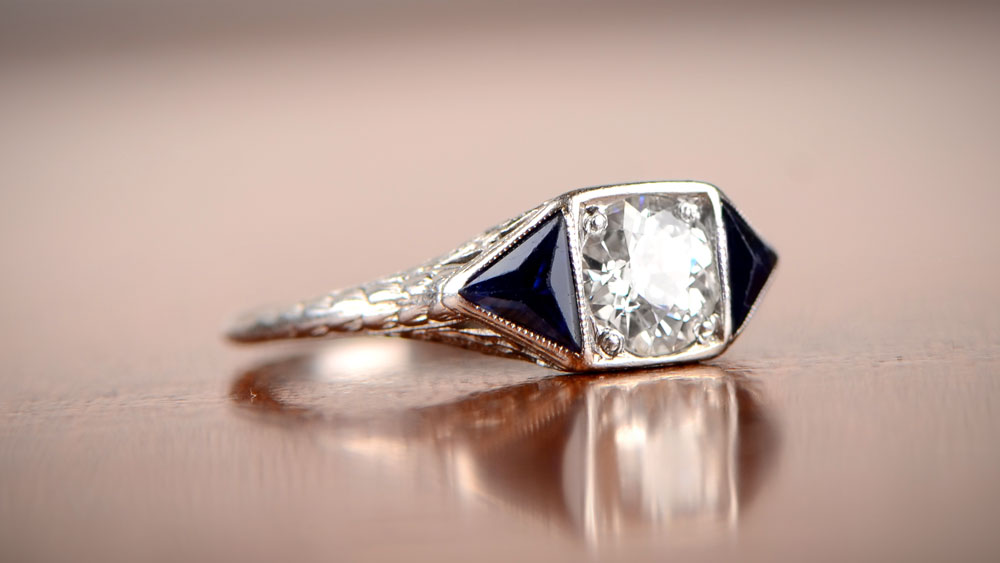 Art Deco Era Engagement Ring