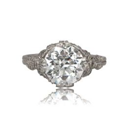 3 Carat Edwardian Style Engagement Ring