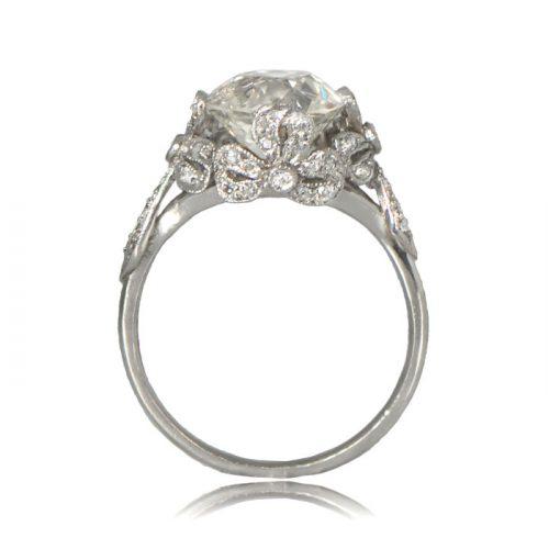 Edwardian Style Engagement Ring Estate Diamond Jewelry