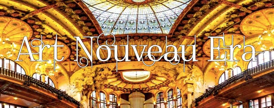 Art Nouveau Ceiling
