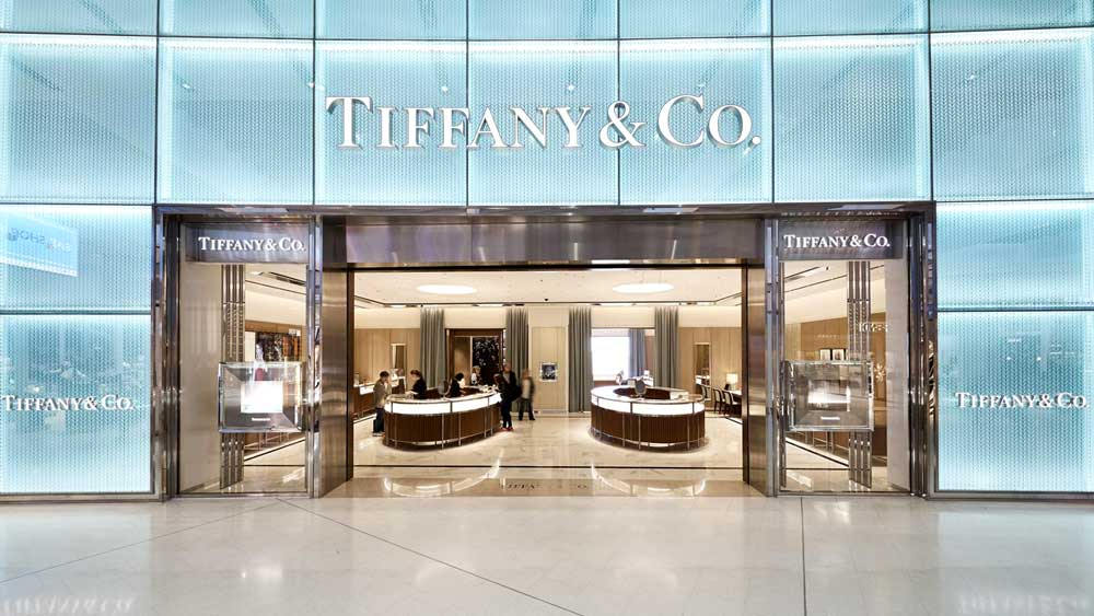 Tiffany and Co Store in Sydney Airport