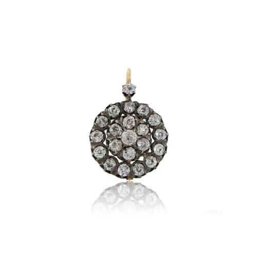 Georgian Diamond Earrings