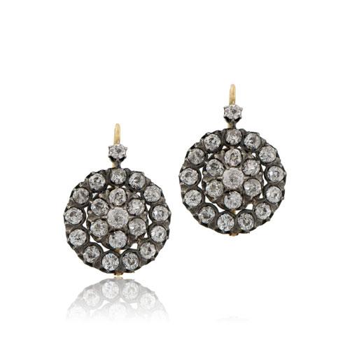 Georgian Era Diamond Earrings