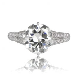 Three Carat Engagement Ring