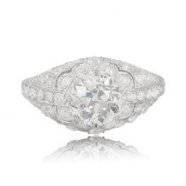 Estate Diamond Vintage Engagement Ring