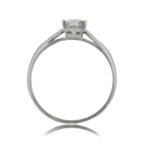 33N Art-Deco-Solitaire-Engagement-Ring-RMS822-Side-View 3453