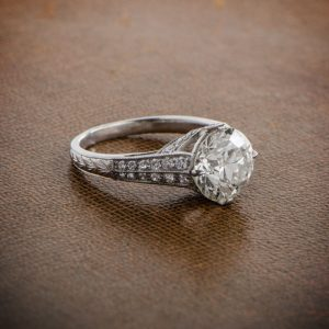 old european engagement ring - Old Wedding Rings