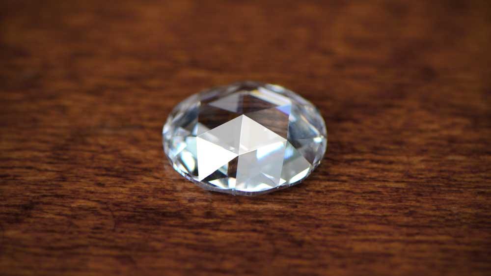 Antique Rose Cut Diamond
