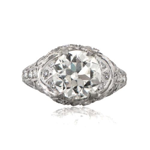 Antique Vintage Art Deco Engagement Ring