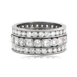 Estate-Diamond-Wedding-Band-6478-T-View