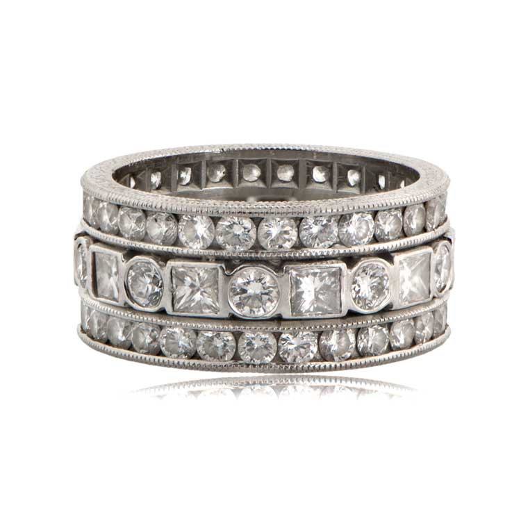 Estate Style Diamond Wedding Band