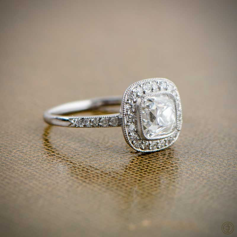 Which vintage engagement ring do you like most for Do jewelry stores finance engagement rings