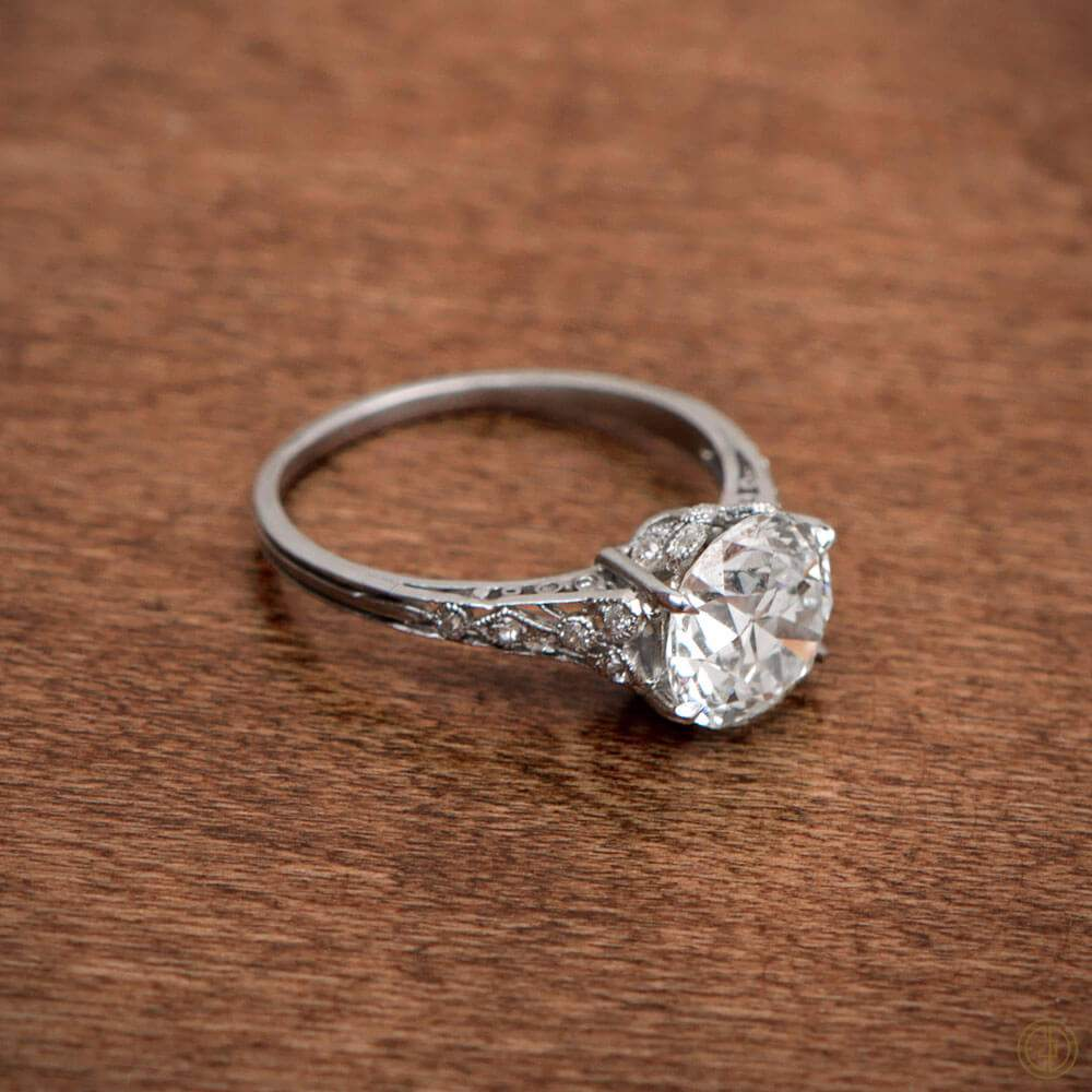 vintage engagement rings: pinterest favorites