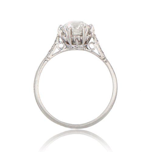 1 14ct Vintage Art Deco Engagement Ring