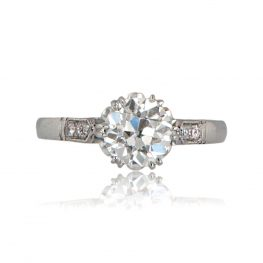 Vintage Styled Engagement Ring