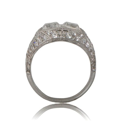 11235-Antique-Double-Carre-Engagement-Ring-SV