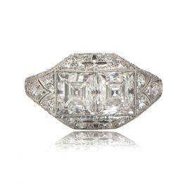 11235-Antique-Double-Carre-Engagement-Ring-TV