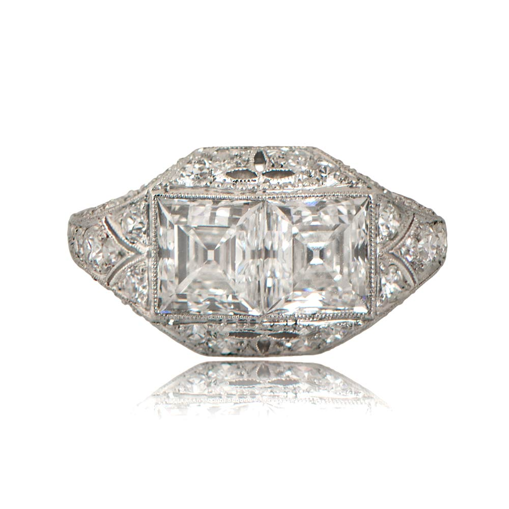 Antique Estate Platinum Engagement Rings