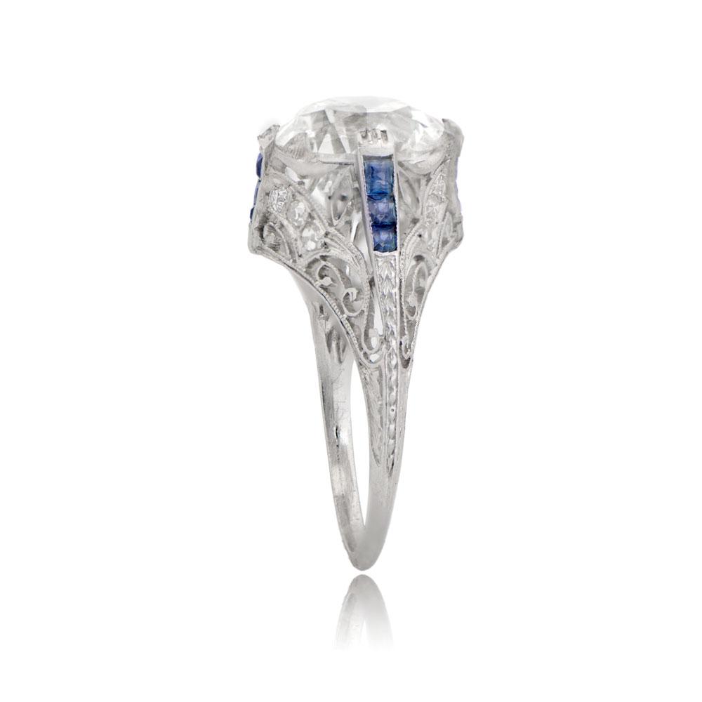 antique art deco 315ct engagement ring estate diamond