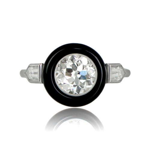 Old-European-and-Onyx-Engagement-Ring-11241-TV