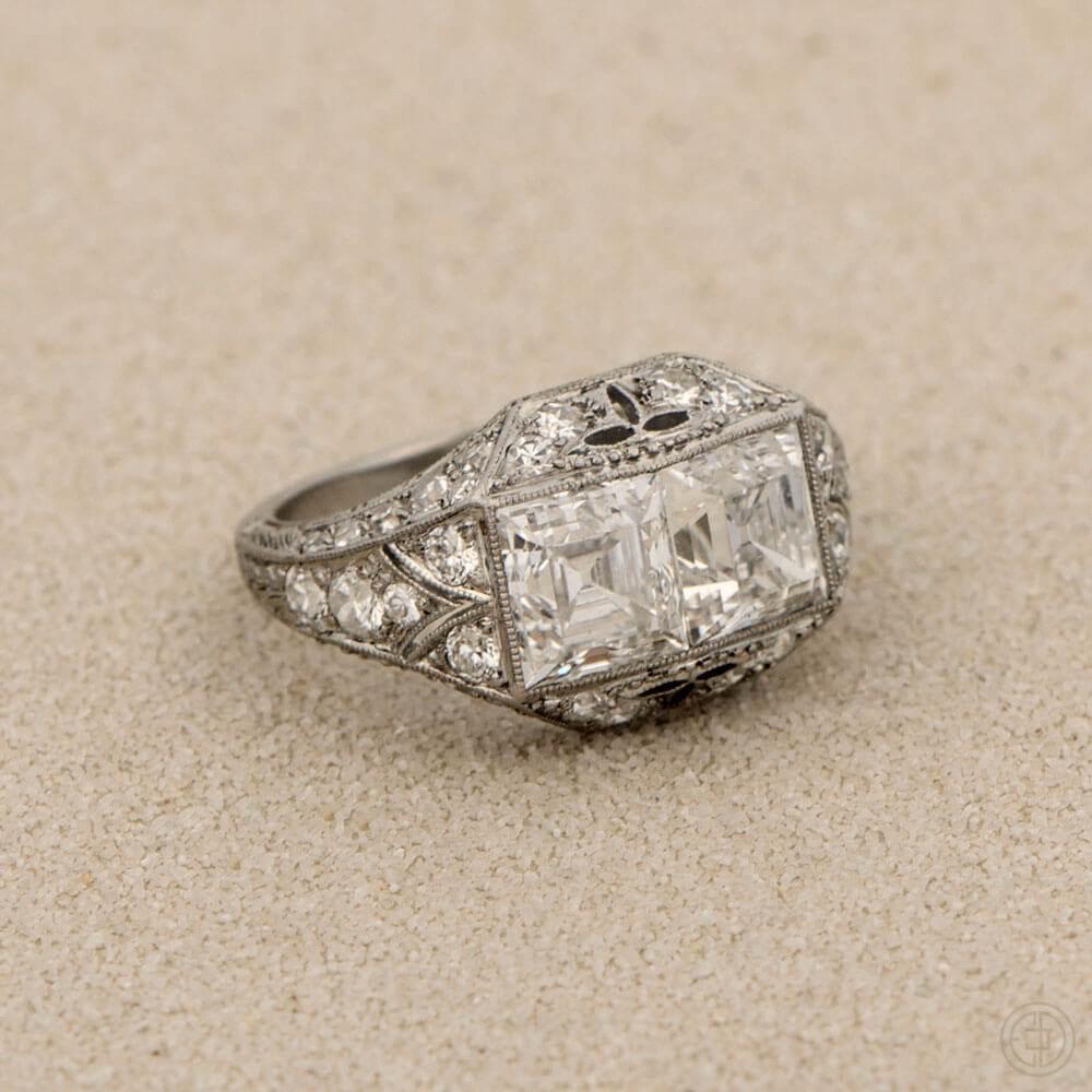 Cushion Cut Diamond Rings Amp More Vintage Treasures