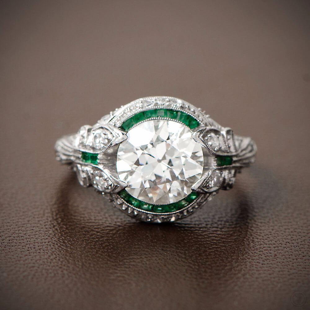Vintage engagement rings pinterest favorites for Art craft engagement rings