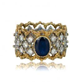 Mario Buccellati Sapphire Ring