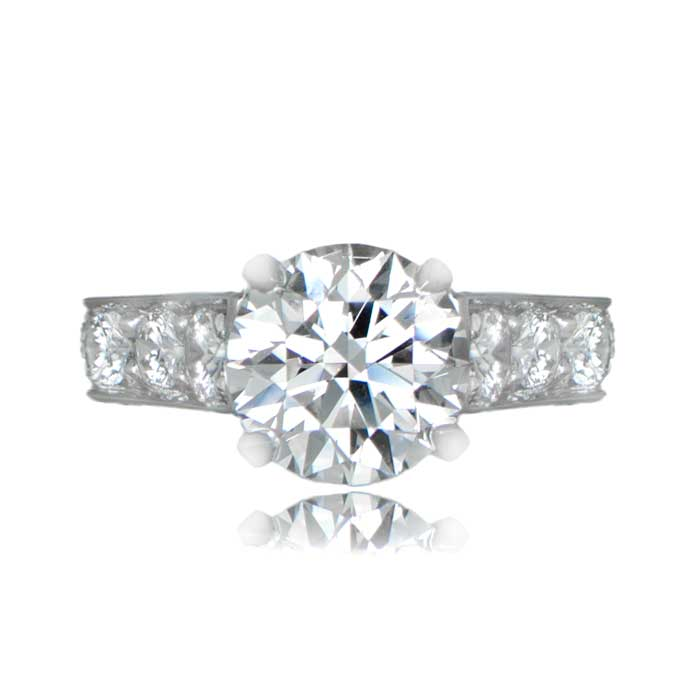 114ct cartier engagement ring