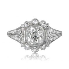 Leeds Vintage Style Engagement Ring