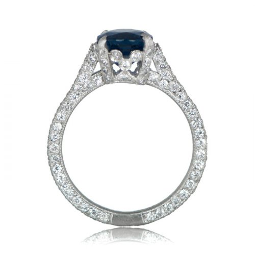 Estate Sapphire Engagement Ring