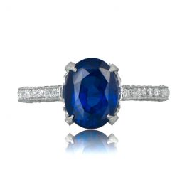 Estate Sapphire Ring