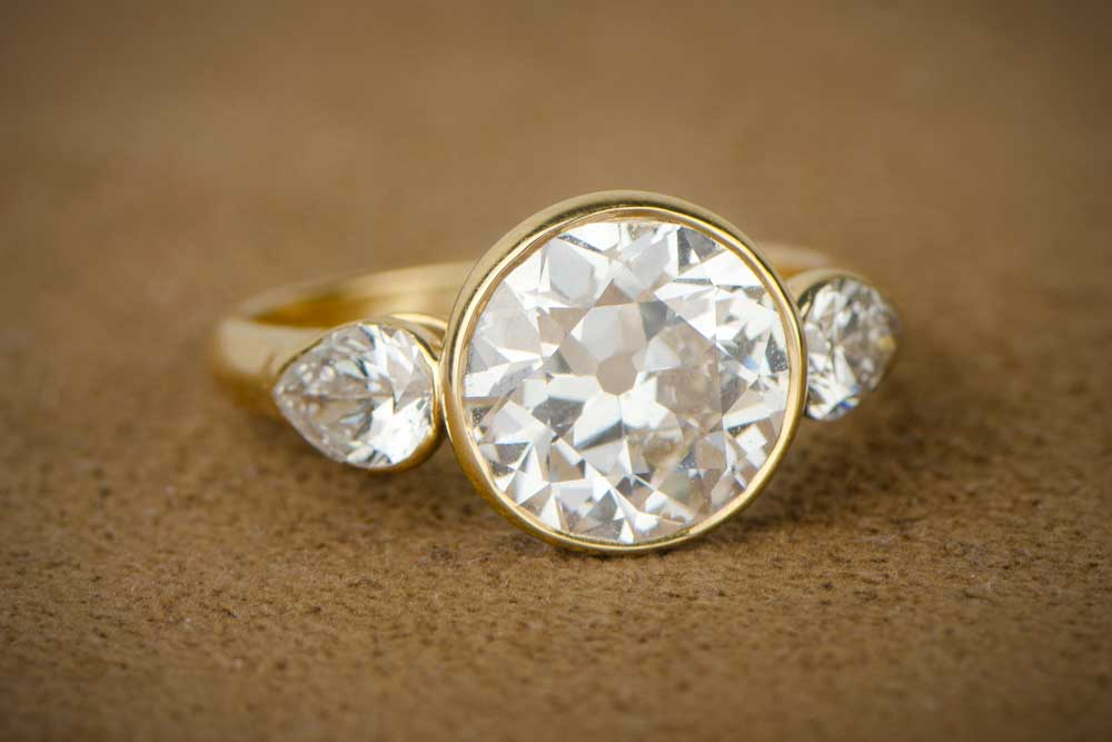 How much does a vintage engagement ring cost for How much wedding ring cost