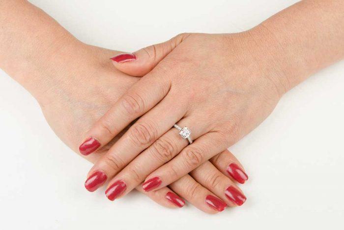 estate tiffany engagement ring. Black Bedroom Furniture Sets. Home Design Ideas