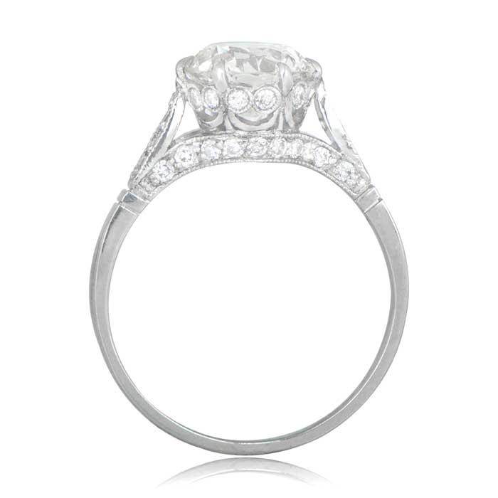 crown engagement ring - Crown Wedding Ring