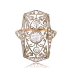 Antique Openwork Ring