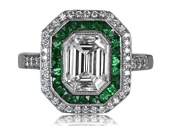 Asscher Cut Rings