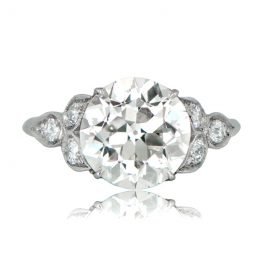 Estate Platinum Diamond Ring