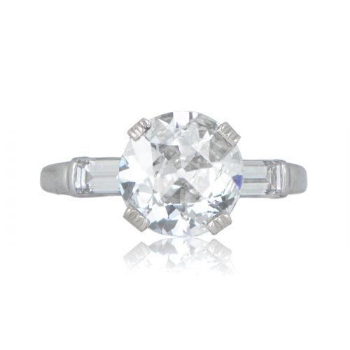 2.11ct Antique Engagement Ring
