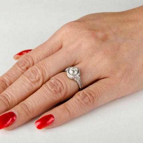 Art Deco JE Caldwell Ring
