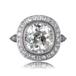 11484-Four-Carat-Old-Mine-Diamond-Ring-TV